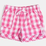 Sears Infant Girls' Check Short