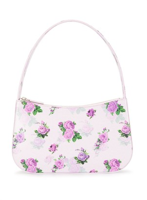 Kwaidan Editions Floral Print Faux Leather Shoulder Bag