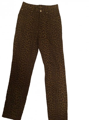 Fendi Brown Denim - Jeans Trousers
