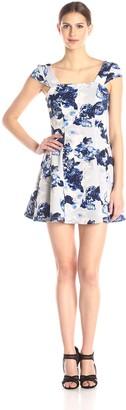 BCBGeneration Women's Strapless Seamed Skirt Dress