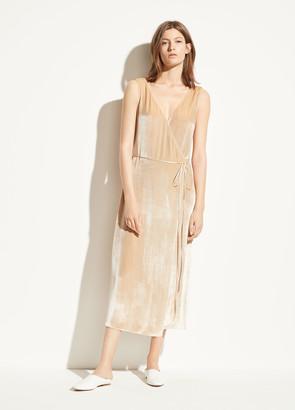Vince Panne Wrap Dress