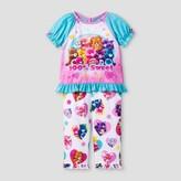 Care Bears Toddler Girls' Care Bears '100% Sweet' 2-Piece Sleepwear Set - Blue