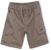 DKNY Charcoal Flat-Front Cargo Shorts - Toddler & Boys
