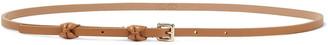 Red(V) Bow-embellished Leather Belt