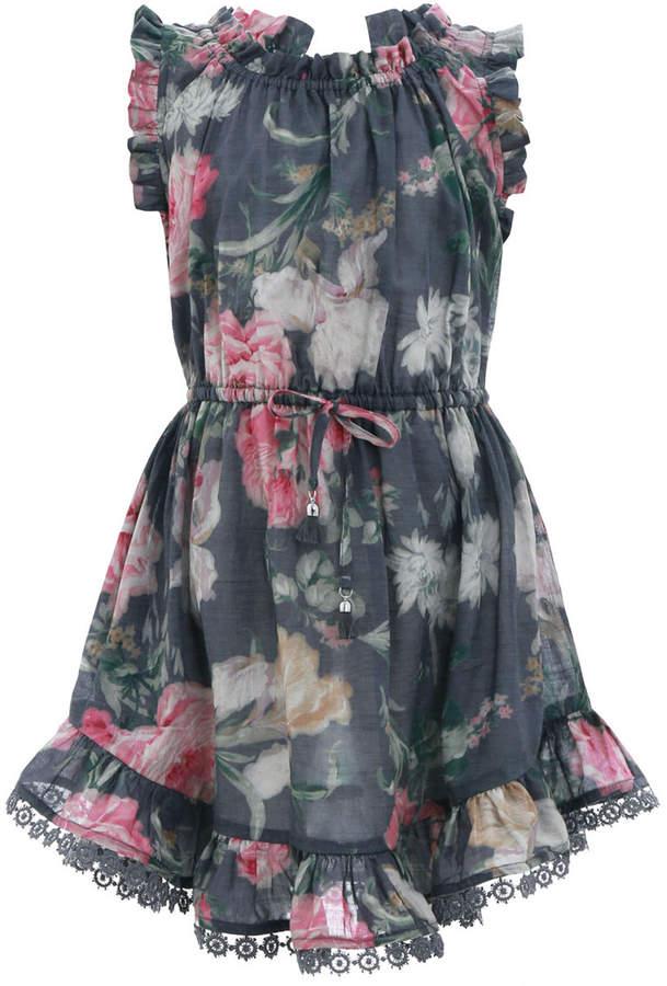 Zimmermann Iris Floral Flip Dress