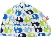 Zutano Ellas Elephants Hat (Baby) - White - 6 Months