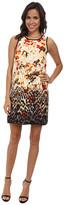 Kensie Animal Ombre Floral Dress KS3K7459
