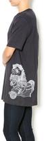 A Little Bit Hippy Fu Dog T-Shirt