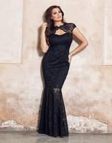 Jessica Wright Lace Keyhole Maxi Dress