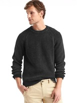 Gap Ribbed crewneck sweater