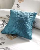 Fashion World May Applique Square Filled Cushion