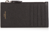 Givenchy Eros grained-leather card holder