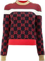 Gucci GG patterned sweater