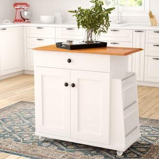 Andover Mills Lucrezia Kitchen Cart