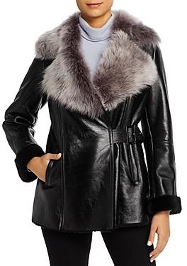Maximilian Furs Lamb Shearling Jacket - 100% Exclusive