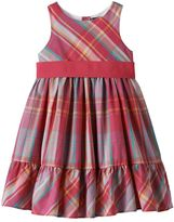 Chaps Toddler Girl Woven Plaid Dress