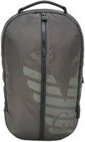 Emporio Armani logo print backpack - men - Nylon - One Size