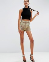 Asos NIGHT Sequin Irridescent Shorts