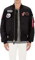 Alpha Industries Men's MA-1 Reversible Flight Jacket-BLACK