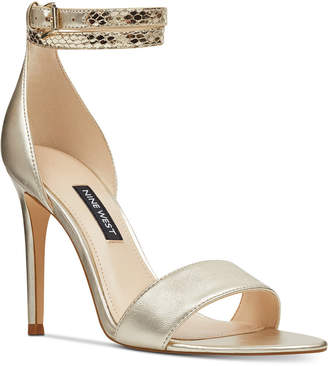 Nine West Women Nika Evening Sandals Women Shoes