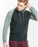 Express Fleece Raglan Funnel Neck Sweatshirt