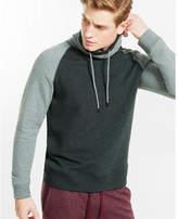 Express fleece raglan funnel neck sweatshirt