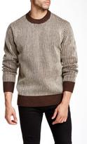 Obey Sloper Stripe Crew Neck Sweater