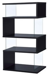 Overstock Torval Casual Asymmetrical Bookcase