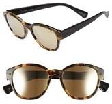 Lanvin Men's 50Mm Retro Sunglasses - Black