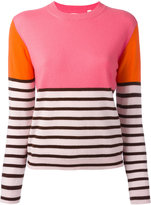 Chinti and Parker colour-block jumper