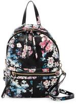 T-Shirt & Jeans Mini Pretty Punk Floral Print Backpack