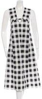 Derek Lam Printed Midi Dress