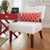 HomeSullivan White Tufted Accent Chair