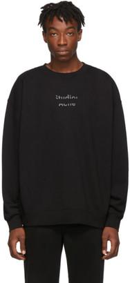 Acne Studios Black Fyola Logo Sweatshirt