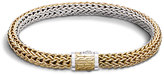 John Hardy Women's Classic Chain 6.5MM Reversible Bracelet, Sterling Silver, 18K Gold