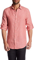 Perry Ellis Regular Fit Linen Shirt