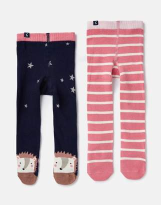 Joules Anikins 2 Pack Tights