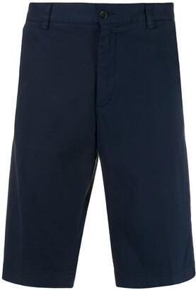 Paul & Shark straight-fit Bermuda shorts