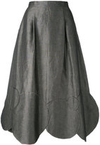 Societe Anonyme Circles skirt - women - Cotton/Linen/Flax - 40