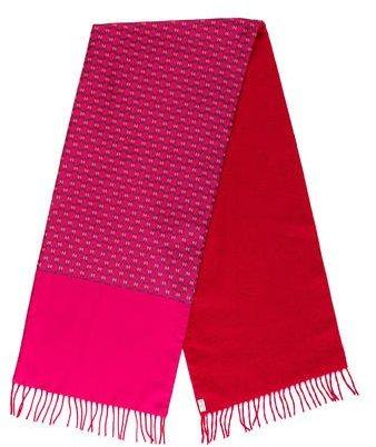 Hermes Reversible Cashmere & Silk Stole