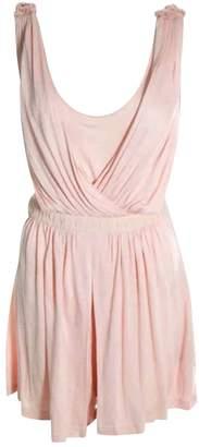 Tibi Pink Cotton Jumpsuits