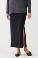 J. Jill Wearever Smooth-Fit Long Side-Vent Skirt