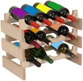Wooden Mallet 24-Bottle Dakota Wine Rack