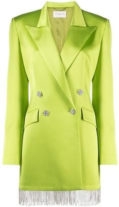 Giuseppe di Morabito Crystal-Embellished Blazer Dress