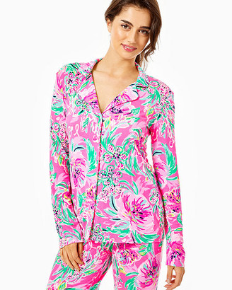 Lilly Pulitzer PJ Knit Button Up Top
