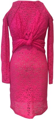 Preen by Thornton Bregazzi Pink Lace Dresses