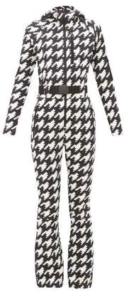 Perfect Moment Star Houndstooth Technical All-in-one Ski Suit - Womens - Multi