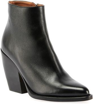 Chloé Rylee 90MM Block Heel Western Booties