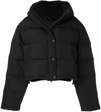 Wardrobe NYC Release 03 cropped puffer jacket