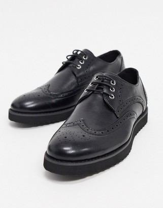 Truffle Collection Lace Up brogues